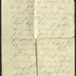 Der letzte Brief von Fritz Apsel vom 24. April 1918
