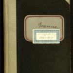 1. Wirtschaftsbuch (1913-1917) von Gustav Braune (1870-1954)