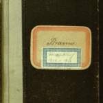 2. Wirtschaftsbuch (1918-1924) von Gustav Braune (1870-1954)