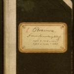 Familientagebuch (1917-1922) von Gustav Braune (1870-1954)