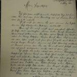 Liebesbriefe zwischen Fritz Kreisel und Trudel Joseger, item 115