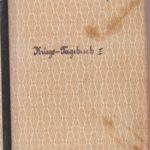 Kriegs-Tagebuch Paul Bauer