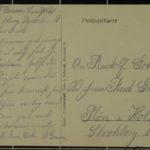Feldpostkartensammlung von Rudolf Grimm, item 15