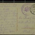 Feldpostkartensammlung von Rudolf Grimm, item 19