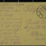 Feldpostkartensammlung von Rudolf Grimm, item 21