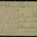 Feldpostkartensammlung von Rudolf Grimm, item 57