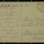 Feldpostkartensammlung von Rudolf Grimm, item 63