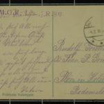 Feldpostkartensammlung von Rudolf Grimm, item 71