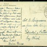 Fotografie des Ehepaars Kruse und Feldpostkarten von Heinrich Kruse und Georg Wegner, item 3