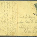 Fotografie des Ehepaars Kruse und Feldpostkarten von Heinrich Kruse und Georg Wegner, item 7