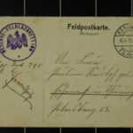 Foto und Feldpost von Franz Rudolph