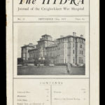 A copy of The Hydra, the hospital magazine at Craiglockhart War Hospital. © National Museums Scotland