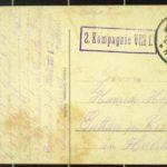 Feldpostkarten an Friedrich Paasch, item 3