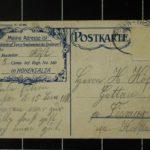 Feldpostkarten an Friedrich Paasch, item 30