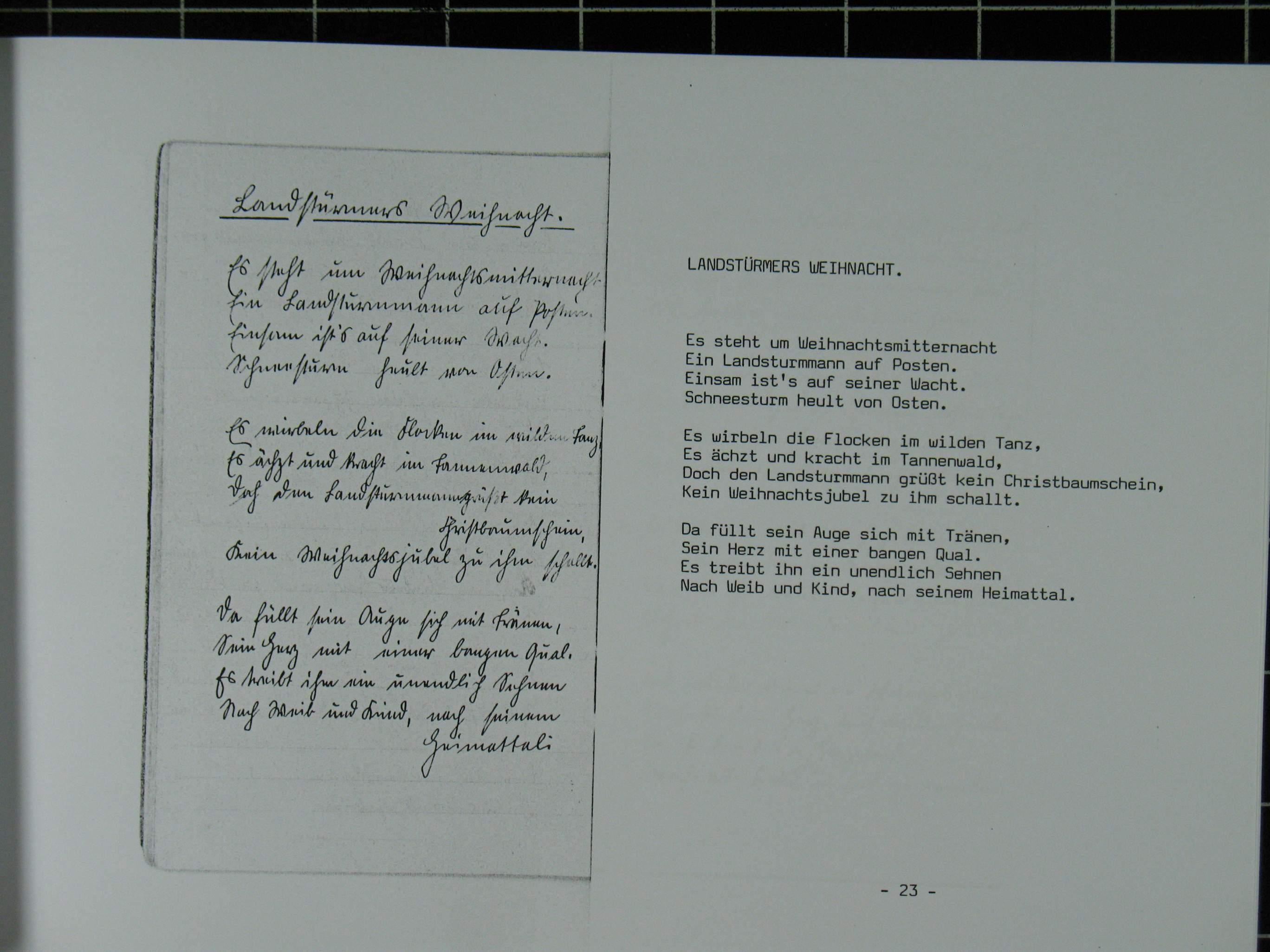 Fotos Und Gedichte Von Ernst Karl Robert Grünwald Aus