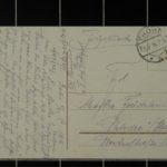 Feldpostkarten von Fritz Hinz an seine Geliebte Martha Früchtenicht in Uetersen, item 2