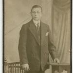 Zdjęcie mojego dziadka - Bronisława Sobiaka -zrobione w Berlinie