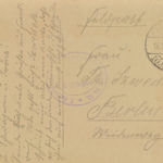 Pocztówka od Jana Kwiatkowskiego do Teresy Szwedek