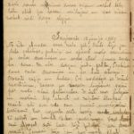 Diary of Gotholds Apsitis-the medical orderly of the 6th Tukums Latvian Rifleman Regiment. May 1916-1919, page 54