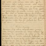 Diary of Gotholds Apsitis-the medical orderly of the 6th Tukums Latvian Rifleman Regiment. May 1916-1919, page 56