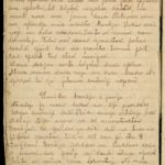 Diary of Gotholds Apsitis-the medical orderly of the 6th Tukums Latvian Rifleman Regiment. May 1916-1919, page 70