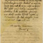 Letter of Latvian Riflemen Reserve Regiment's rifleman to Otilija Krampe in Valmiera, page 2