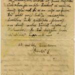 Letter of Latvian Riflemen Reserve Regiment's rifleman to Otilija Krampe in Valmiera, page 2