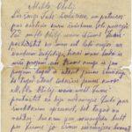 Letter to Otilija Krampe, page1