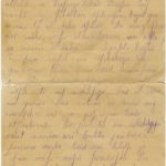 Letter of the National Guard soldier of the 8th company of the 176th Reserve Infantry battalion of the Russian Army Andrejs Krampe to his sister Otilija Krampe in Valmiera