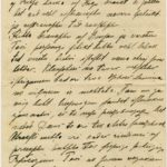 Letter to inhabitant of Governorate of Kurzeme Otilija Krampe from friend Marta from Vanagi, page 4
