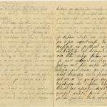 Letter to refugee from Governorate of Kurzeme Otilija Krampe in Valmiera from friend zelma from Steķi, page 2-3