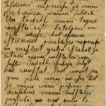 Letter of a soldier of the 5th company of the 59th Labour  battalion of the Russian Army Andrejs Krampe to his sister Otilija Krampe in Valmiera