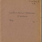 Kārļa-Valdemāra Laufera dienasgrāmata