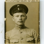 Jānis Fārts, Kijevas 2.praporščiku skolas audzēknis 1915.gadā