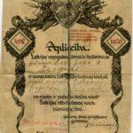 RIX06_028 Sašas Dzeguzes apliecība par dalību Latvijas atbrīvošanas karā