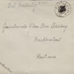 Quislings letters from WWI