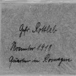 Josef Kister, Bilder von der Front, item 74