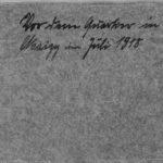Josef Kister, Bilder von der Front, item 103