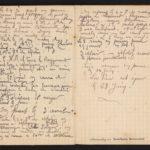 1 Num 971 - Journal de guerre de Marius Riffard., item 34