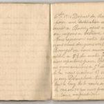 1 Num 1033 - Journal de guerre de Louis Bastet, item 1