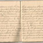 1 Num 1033 - Journal de guerre de Louis Bastet, item 2