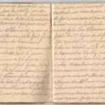 1 Num 1033 - Journal de guerre de Louis Bastet, item 6