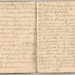 1 Num 1033 - Journal de guerre de Louis Bastet, item 7