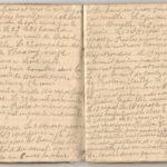 1 Num 1033 - Journal de guerre de Louis Bastet, item 8