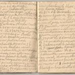 1 Num 1033 - Journal de guerre de Louis Bastet, item 9