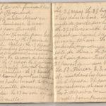 1 Num 1033 - Journal de guerre de Louis Bastet, item 10
