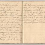1 Num 1033 - Journal de guerre de Louis Bastet, item 11