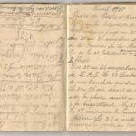 1 Num 1033 - Journal de guerre de Louis Bastet, item 12
