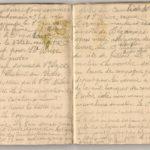 1 Num 1033 - Journal de guerre de Louis Bastet, item 13