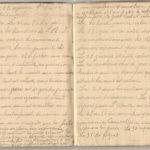1 Num 1033 - Journal de guerre de Louis Bastet, item 14